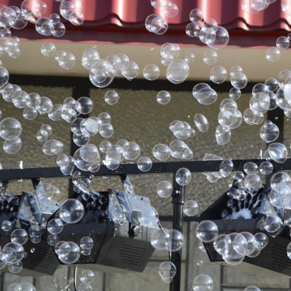 muilo burbulų aparato nuoma Vilniuje